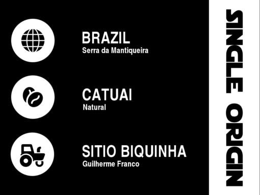 Brazil Sitio Biquinha Lot 3 Data Sheet