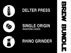 Delter Coffee Press Brew Bundle